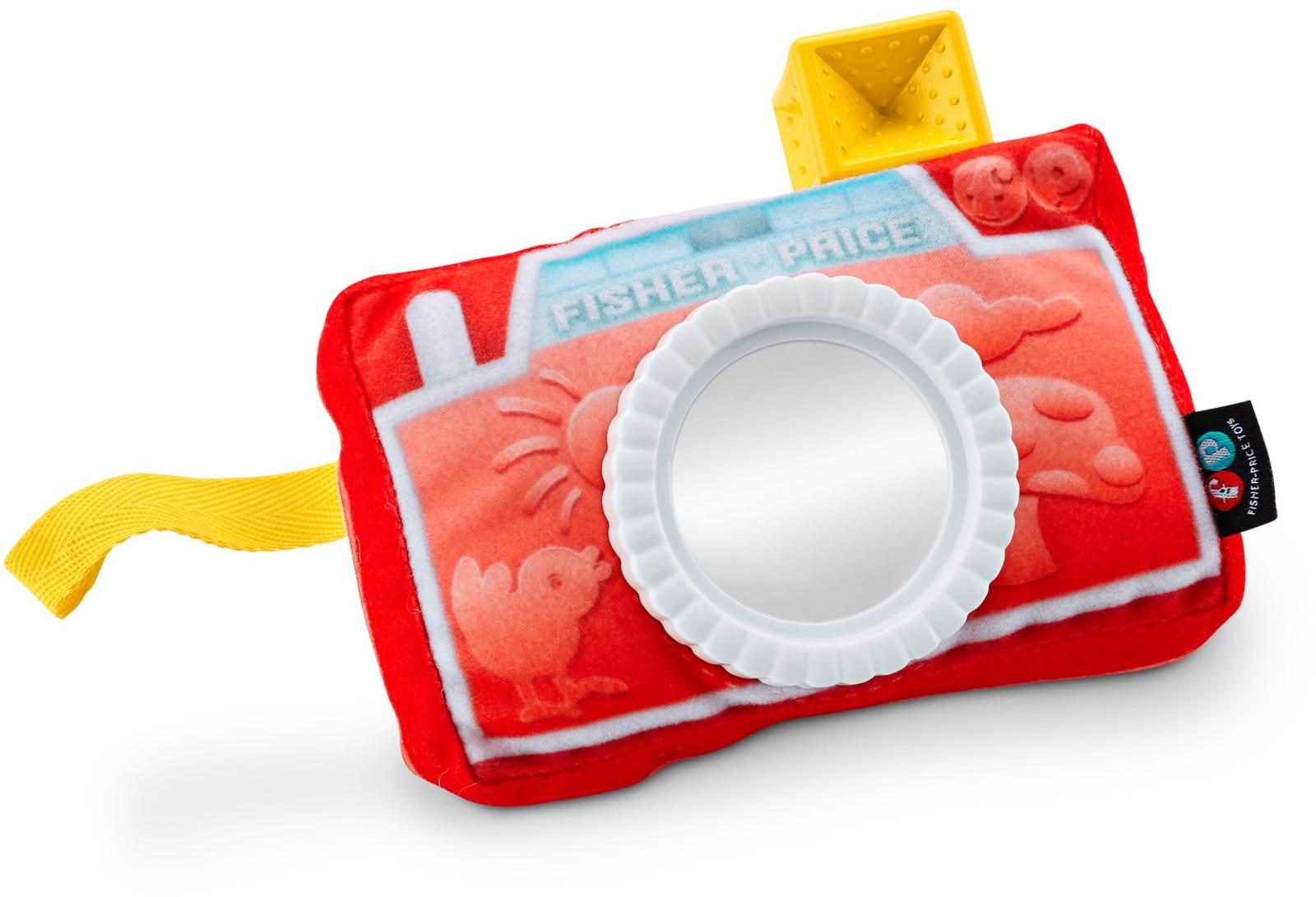 Fisher-Price Newborn Развивающая игрушка Фотоаппарат с зеркальцем фотоаппарат для туриста