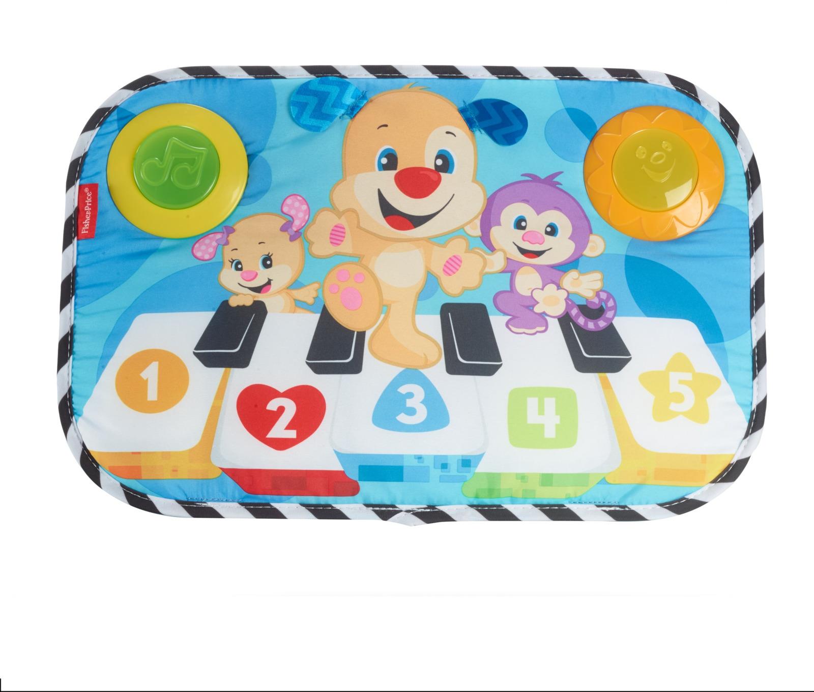 Fisher-Price Newborn Развивающая игрушка Пианино для кроватки