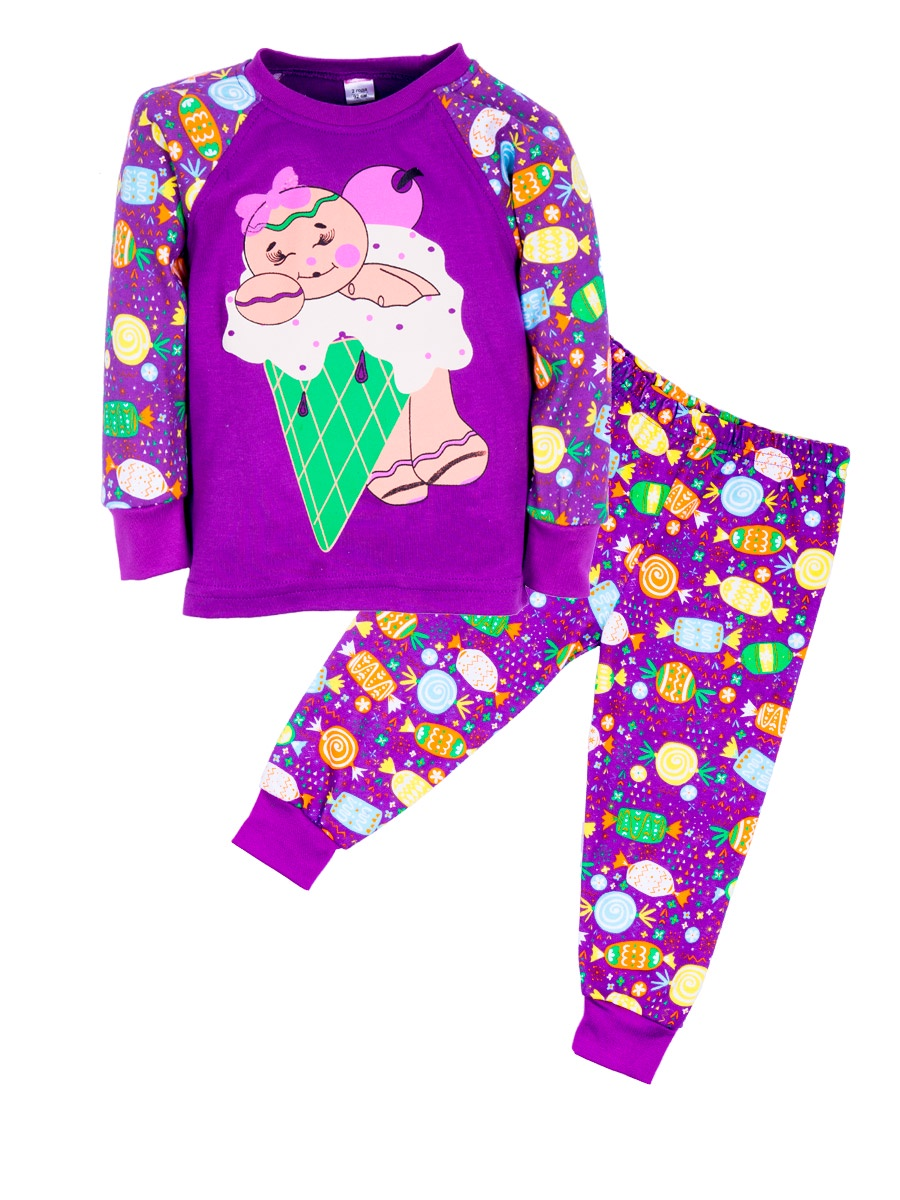 Пижама Sladikmladik 2 пижамы из велюра 0 мес 3 года
