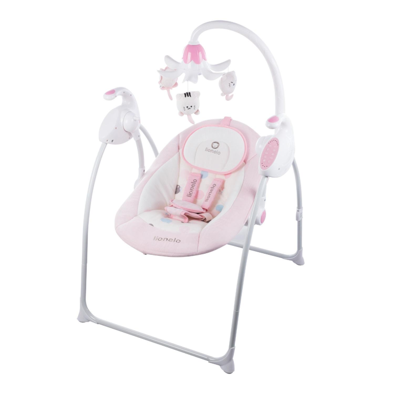 Качели для новорожденных Lionelo ROBIN, LORobinpink розовый