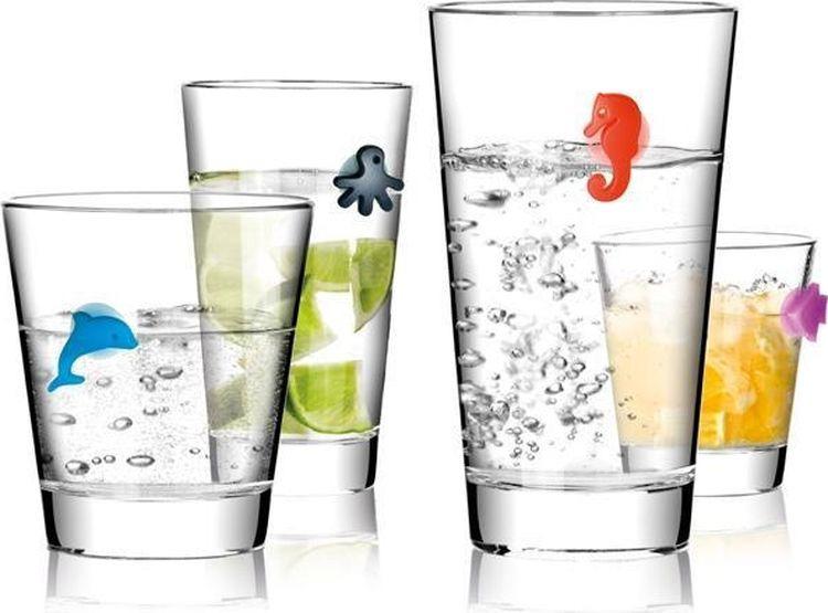 Этикетки для стаканов Tescoma Mydrink. Океан, 12шт цена