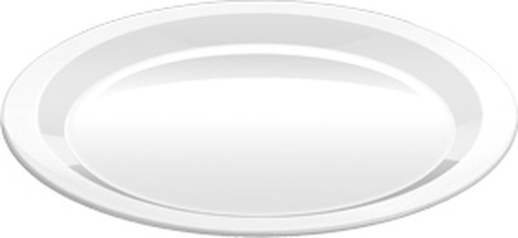Тарелка обеденная Tescoma Gustito, диаметр 27см тарелка tescoma legend 385324