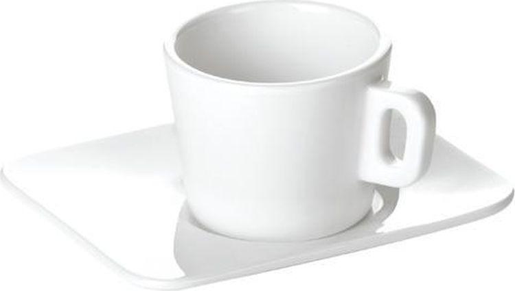 Кружка для эспрессо Tescoma с блюдцем. 386420 цена