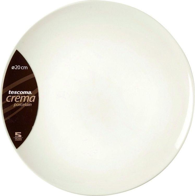 "Тарелка десертная Tescoma ""Crema"", диаметр 19,5 см"