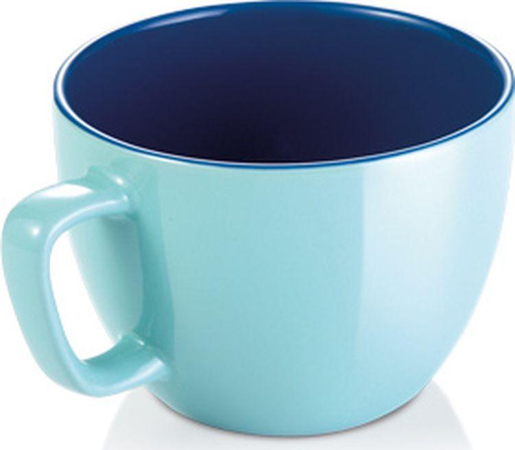 Кружка Crema Shine, большая, цвет: лазурный387194.28Большая кружкаПреимущества:прочная глянцевая глазурь, не боится микроволновой печи и в посудомоечной машины.Материал: Качественная керамика с устойчивой глазурью.Чистка: мыть в посудомоечной машине.Гарантия: 3 года.