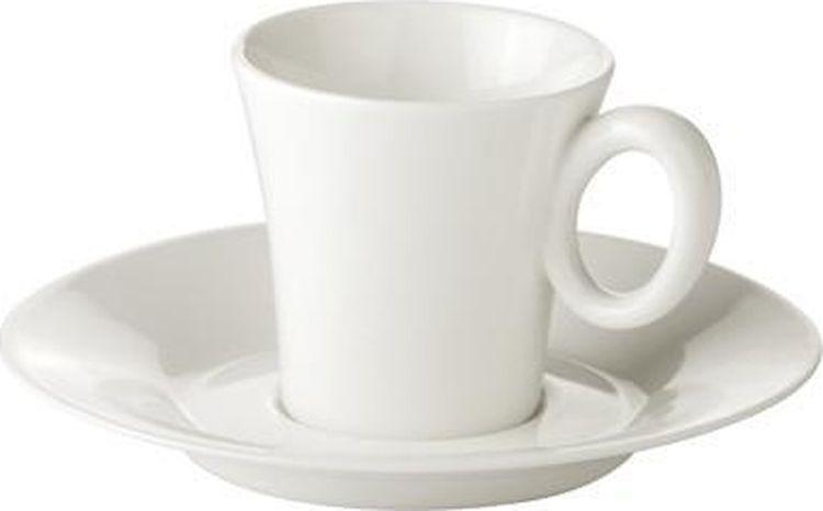 Фото - Кофейная пара Tescoma Allegro, цвет: белый, 2 предмета [супермаркет] jingdong геб scybe фил приблизительно круглая чашка установлена в вертикальном положении стеклянной чашки 290мла 6 z