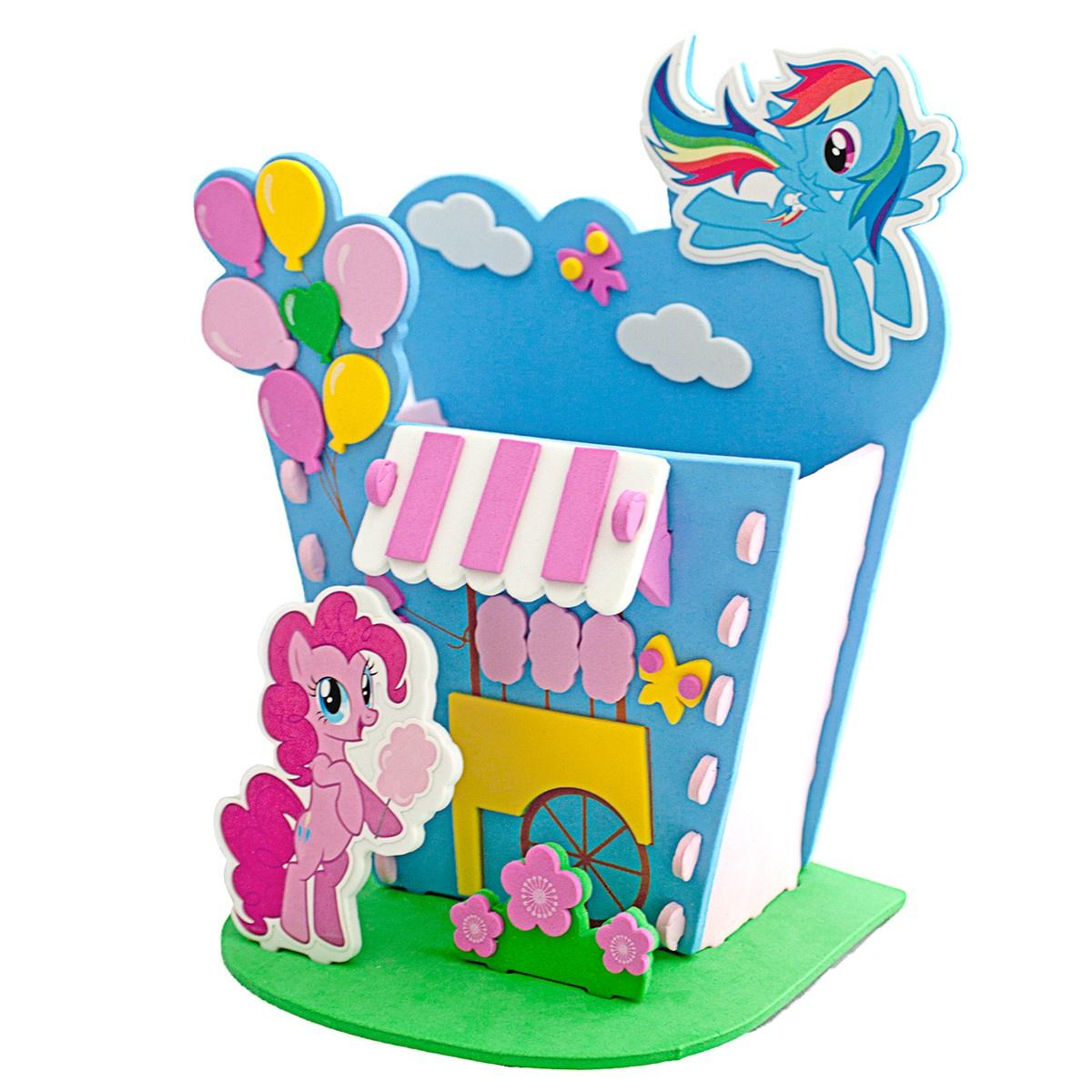 """Набор для творчества Мой маленький пони """"Домик для карандашей - Парк развлечений"""","""