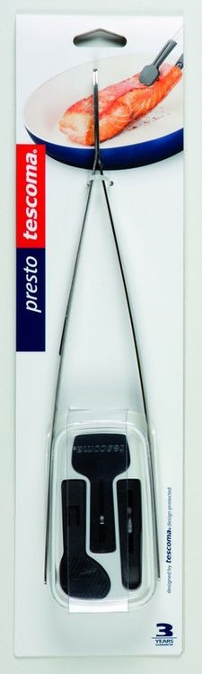 """Пинцет кухонный Tescoma """"Presto"""", с 3 насадками, длина 30,5 см"""