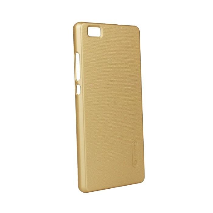 Чехол Nillkin для Huawei Ascend P8, цвет: золотой аксессуар чехол накладка huawei ascend g620 cherry white 8283