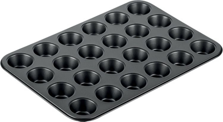 Форма для выпечки Tescoma Delicia, 24 ячейки, 38 х 26 см. 623226 форма для выпечки tescoma для 12 мини кексов delicia 26 x 20 cm 623224