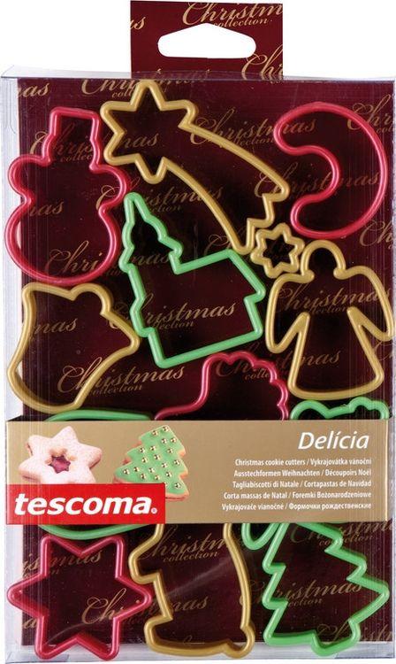 """Формочки для рождественского печенья Tescoma """"Delicia"""", 13шт"""