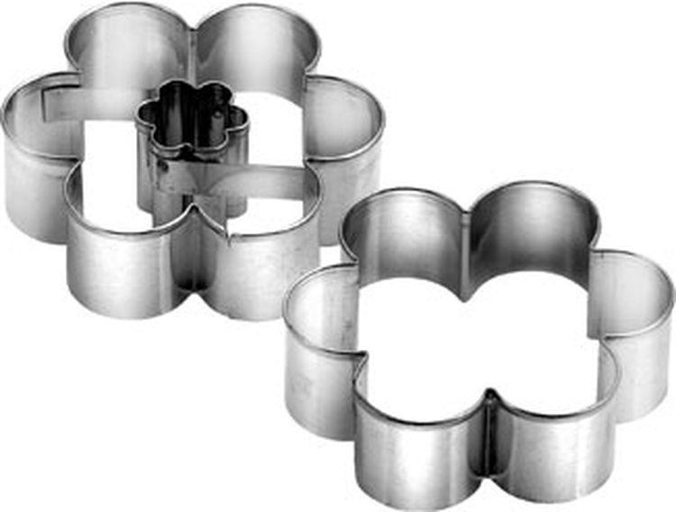 Набор формочек для выпечки Цветок, 2 шт. 631182 набор формочек borner цветок 6 предметов