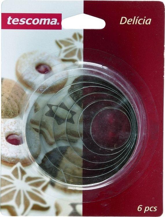 Набор формочек для выпечки Круги, 6 шт. 631360 набор формочек для выпечки сердце 6 шт 631362