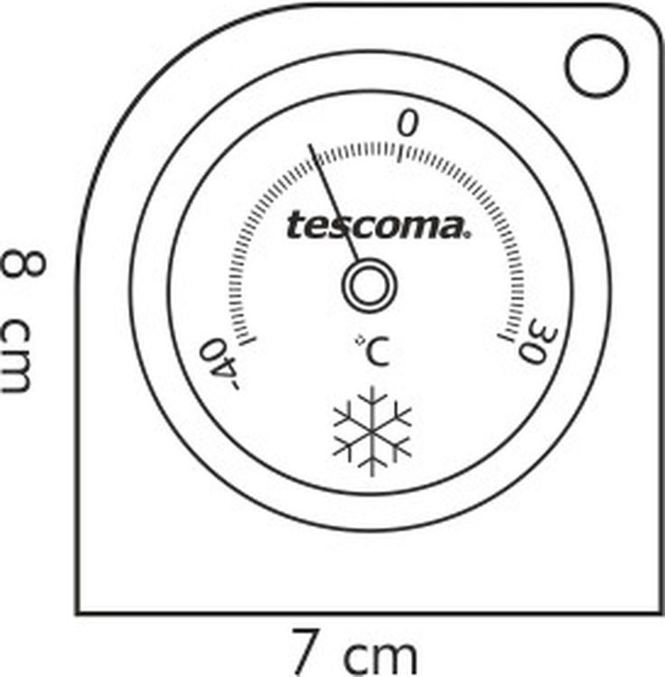 Термометр для холодильника Tescoma