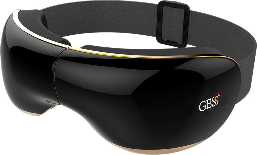 Массажные очки Gess Graise, 4 уровня вибрации, цвет: черный