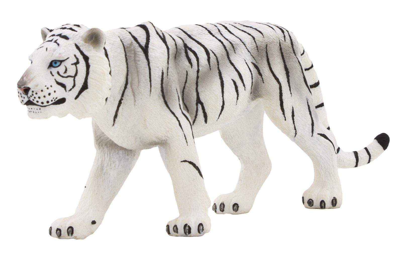 """Фигурка Mojo (Animal Planet) """"Белый тигр"""", 6,5 см"""