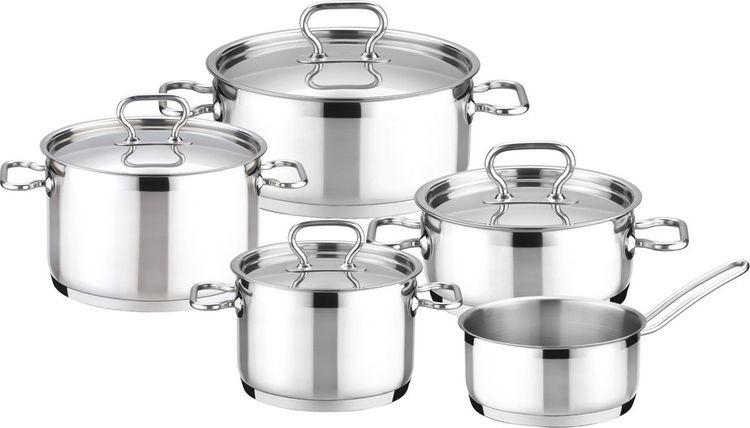 Набор посуды Tescoma Home Profi, 9 предметов набор посуды tescoma home profi 725009