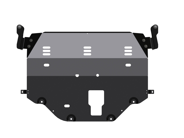 Защита картера и КПП для Hyundai Sonata, 2017-, LF, сталь 2,0 мм printio sheriff