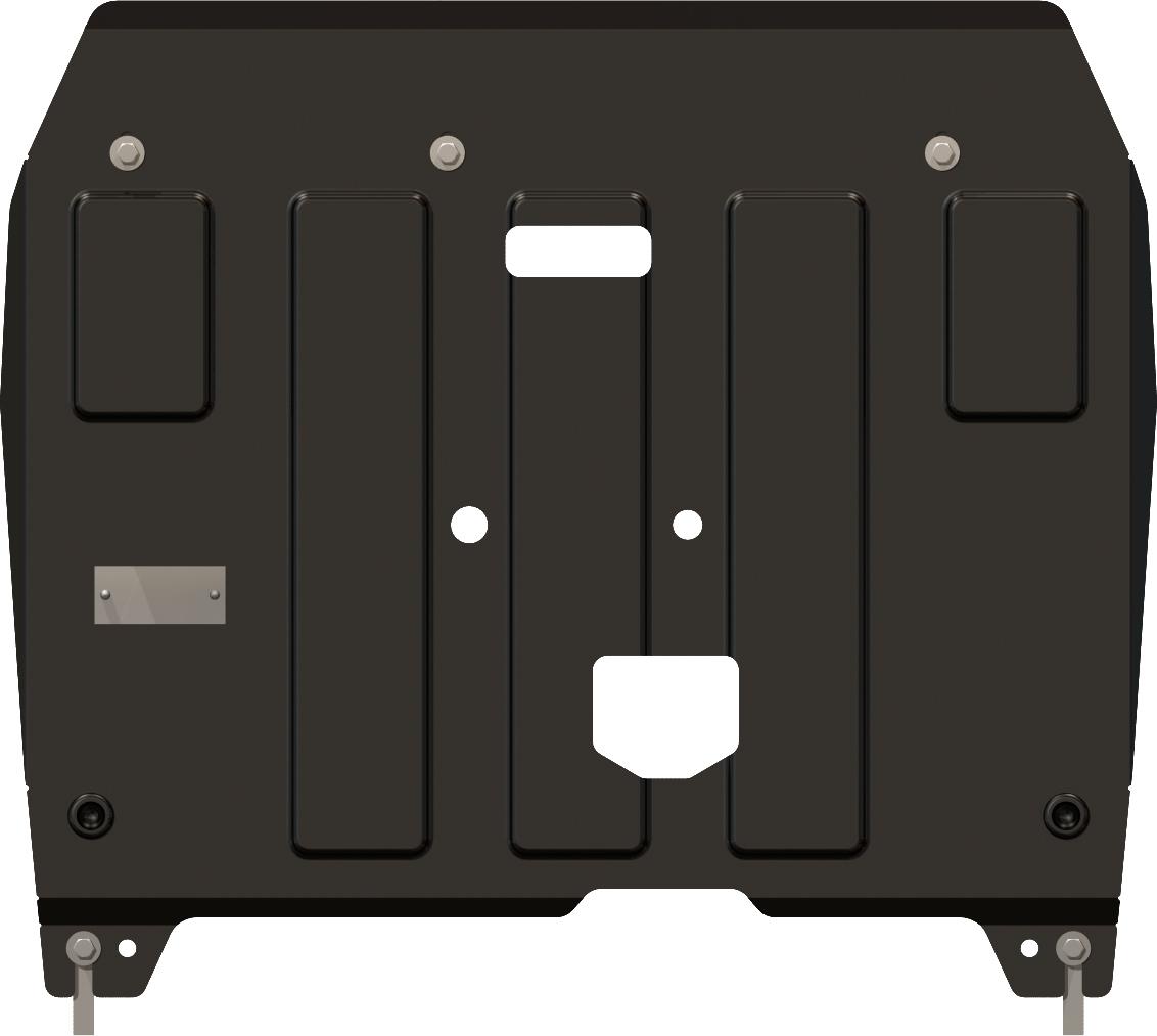 Защита картера и КПП для Kia Cee'd, 2012-, сталь 2,0 мм printio sheriff