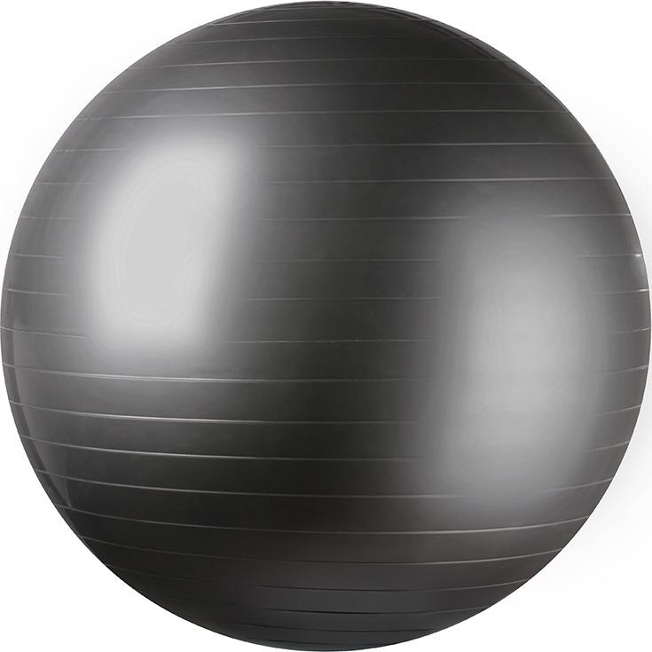 Мяч гимнастический Indigo 97402-55 IR, цвет: серый, диаметр 55 см мяч гимнастический indigo in001 цвет голубой диаметр 75 см
