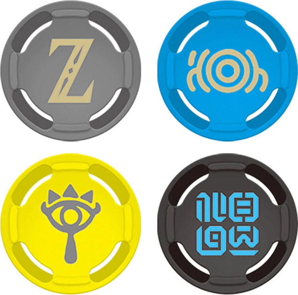 лучшая цена Сменные накладки Hori для консоли Nintendo Switch, NSW-092U, серый, желтый, черный, синий