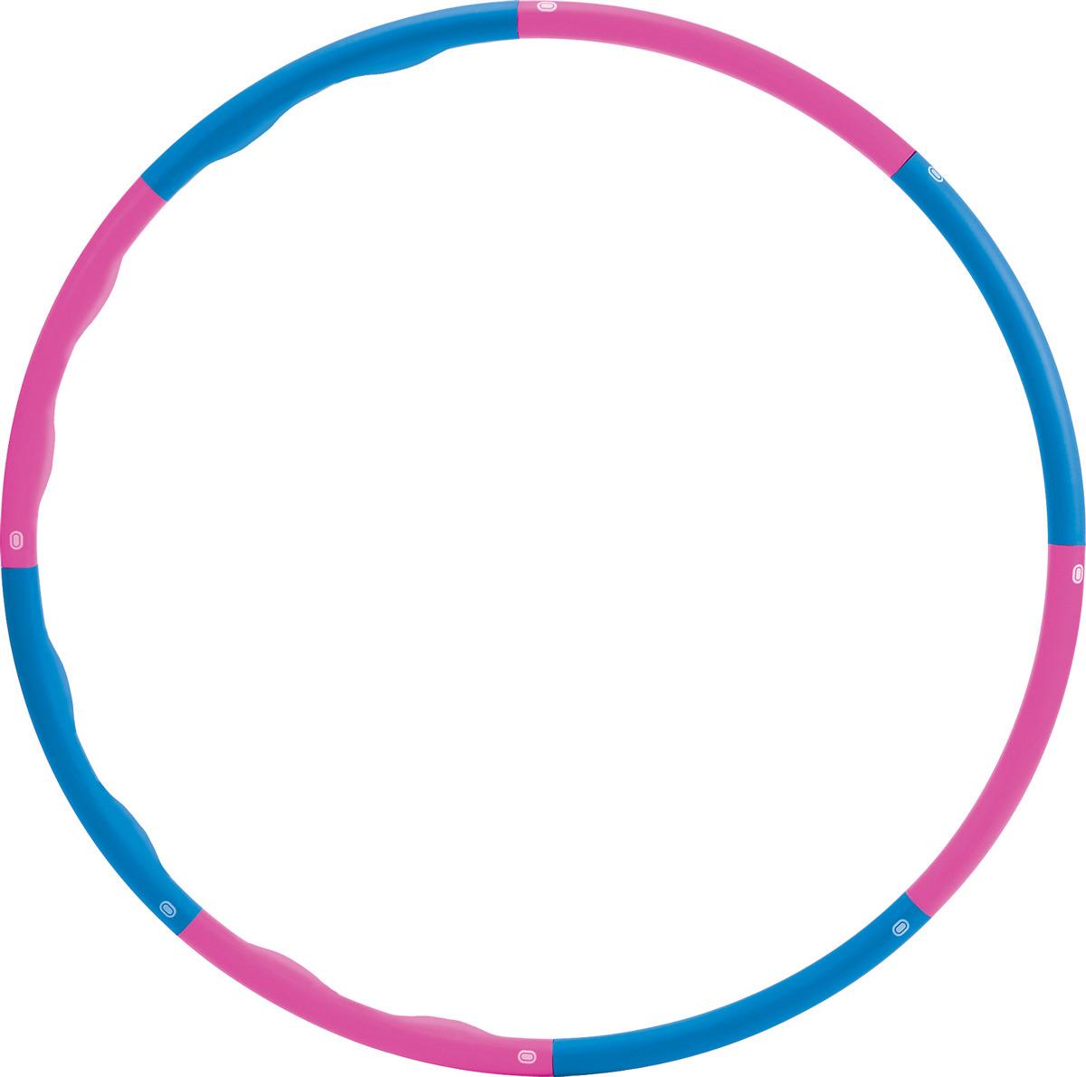 """Обруч массажный Pro-Supra """"Wave 008W"""", разборный, цвет: разноцветный, диаметр 90 см"""