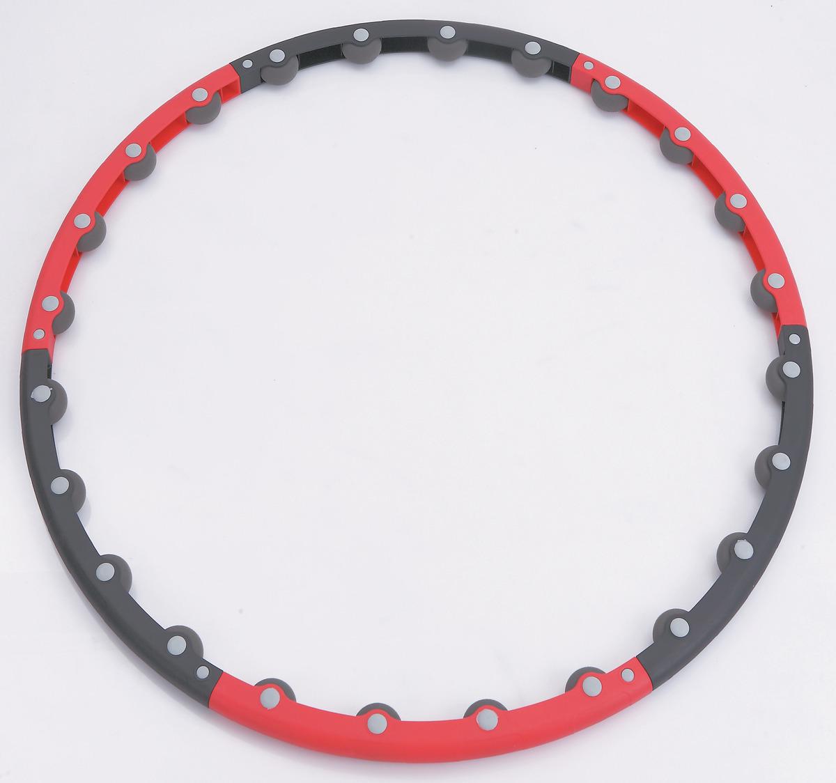"""Обруч массажный Pro-Supra """"Soft 045-HR"""", разборный, цвет: разноцветный, диаметр 100 см"""