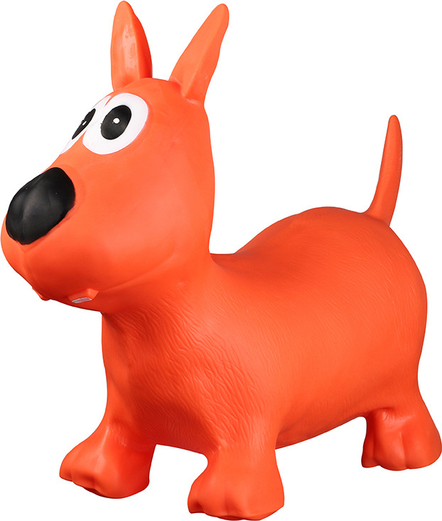 Игрушка надувная Indigo Мяч-попрыгун. Собачка А-13, насос в комплекте цена