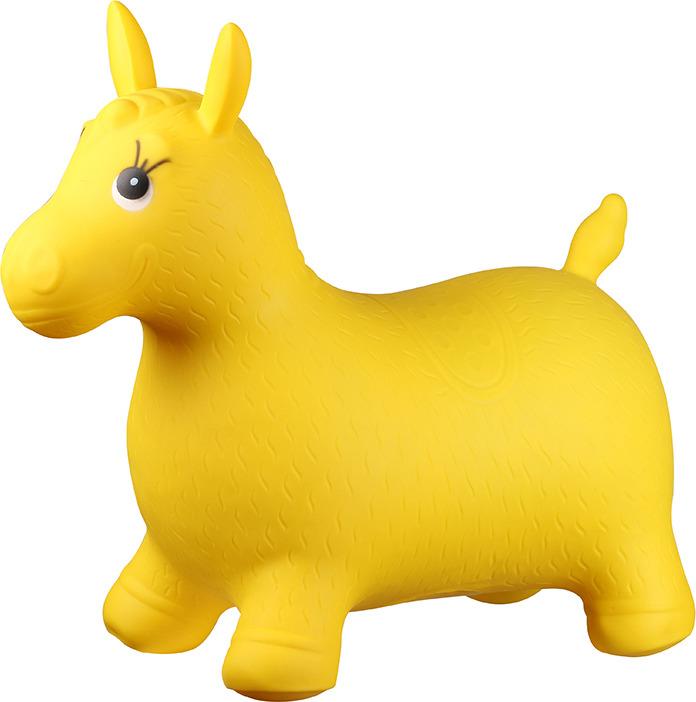 Игрушка надувная Indigo Мяч-попрыгун. Пони А-13, насос в комплекте цена