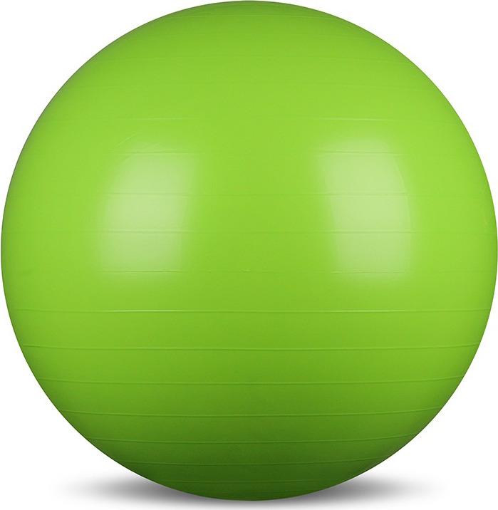 Мяч гимнастический Indigo IN001, цвет: зеленый, диаметр 65 см мяч гимнастический torneo цвет зеленый диаметр 55 см