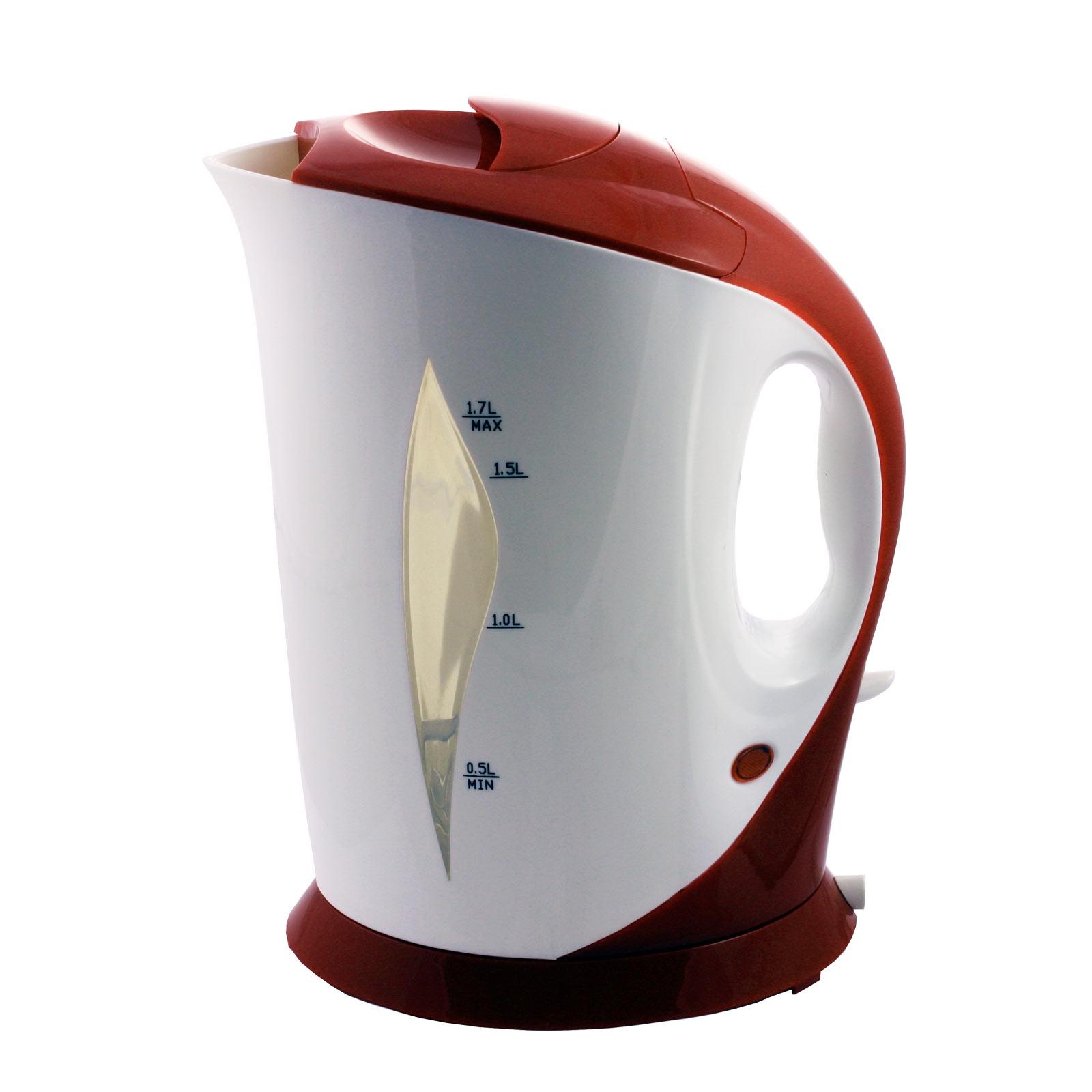 Электрочайник МИКМА ИП-520, цвет:бело-красный, 1.7 л