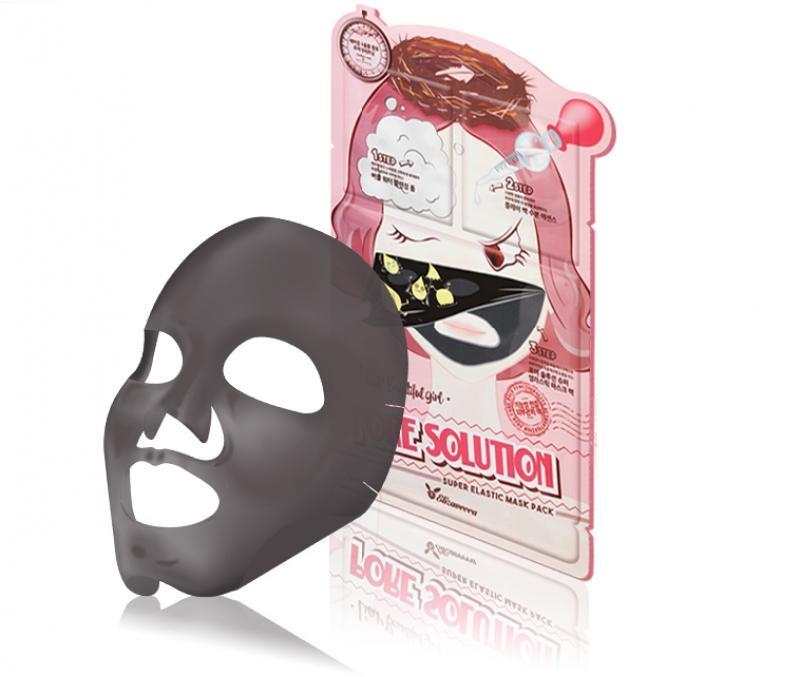 Elizavecca. Трехступенчатая маска для проблемной кожи Pore Solution Super Elastic Mask Pack laneige mini pore маска глиняная увлажняющая для сужения пор mini pore маска глиняная увлажняющая для сужения пор