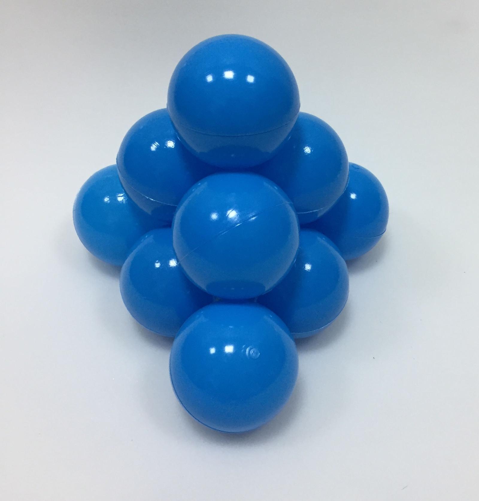 Фото - Набор шариков для игрового бассейна Hotenok, цвет: голубой, диаметр 7 см, 50 шт набор шаров шишки цвет золотой 7 см 3 шт