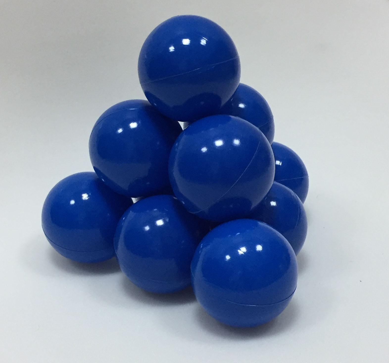 Фото - Набор шариков для игрового бассейна Hotenok, цвет: синий, диаметр 7 см, 50 шт набор шаров шишки цвет золотой 7 см 3 шт