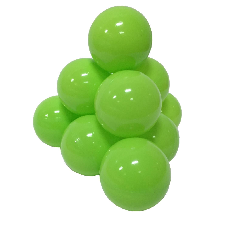 Фото - Набор шариков для игрового бассейна Hotenok, цвет: светло-зеленый, диаметр 7 см, 50 шт набор шаров шишки цвет золотой 7 см 3 шт