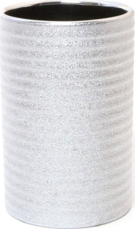 Стакан для ванной комнаты Wenko Polaris Juwel, цвет: серебристый цены