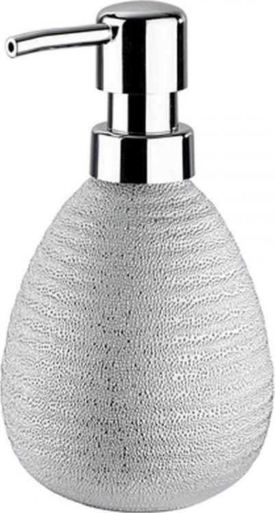 Диспенсер для мыла Wenko Polaris Juwel, цвет: серебристый