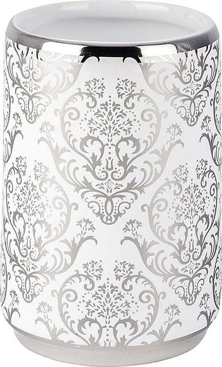 Стакан для ванной комнаты Wenko Barock, цвет: белый цена и фото