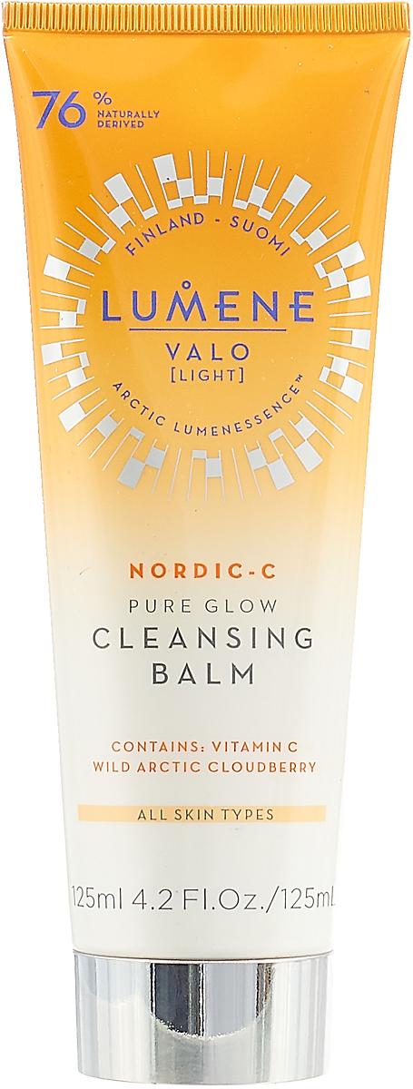 Бальзам для ухода за кожей Lumene Valo, придающий сияние, очищающий, 125 мл lumene valo придающий сияние дневной крем vitamin c 50 мл