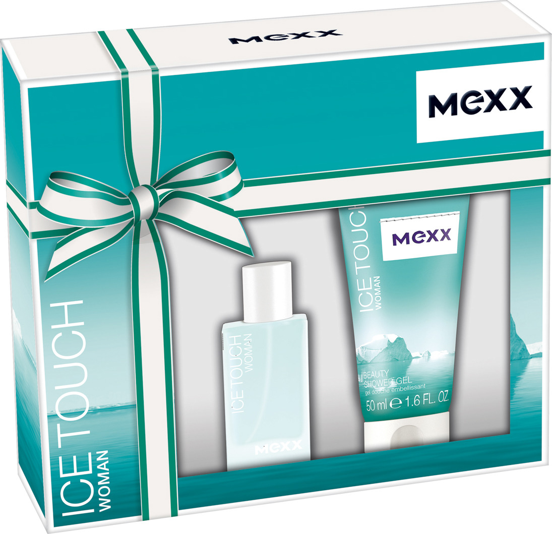 цена Подарочный парфюмерный набор Mexx Ice Touch Woman: туалетная вода, 15 мл, гель для душа, 50 мл онлайн в 2017 году