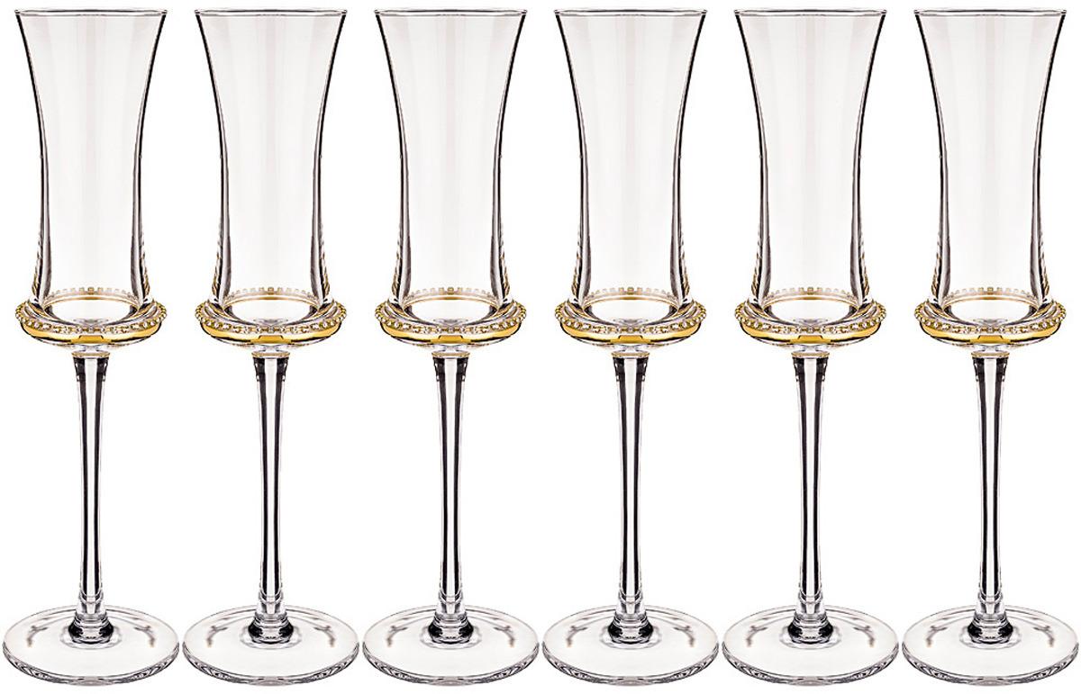 где купить Набор бокалов для шампанского Муза
