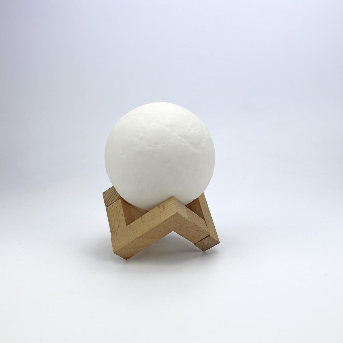 """Светильник-ночник Moooon """"Луна-мини"""", с тактильным управлением, диаметр 8 см"""
