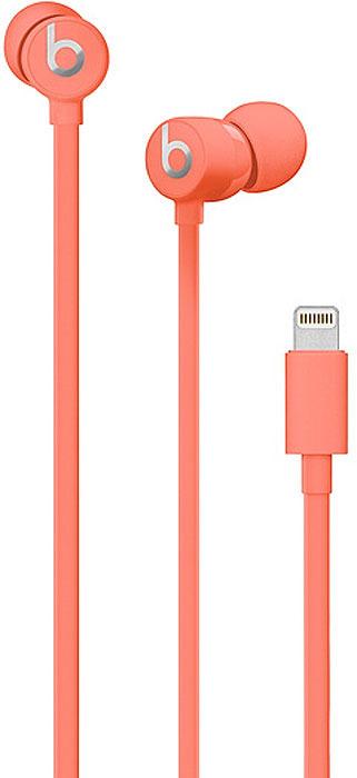 Наушники Beats urBeats3 Earphones with Lightning Connector, Coral наушники earpods with lightning connector mmtn2zm a