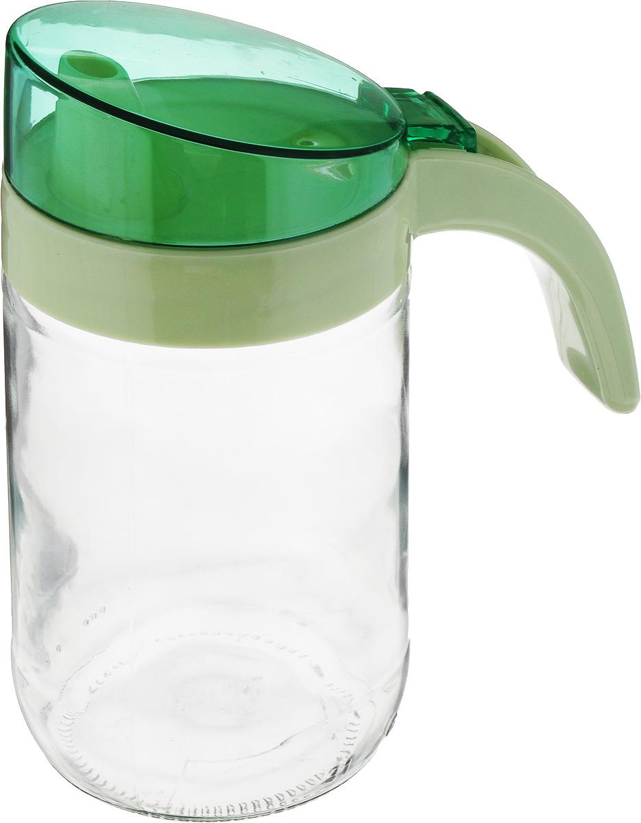 Емкость для масла Herevin, с дозатором, 151180-500, мятный, 660 мл бутылка для воды herevin цвет красный белый 500 мл