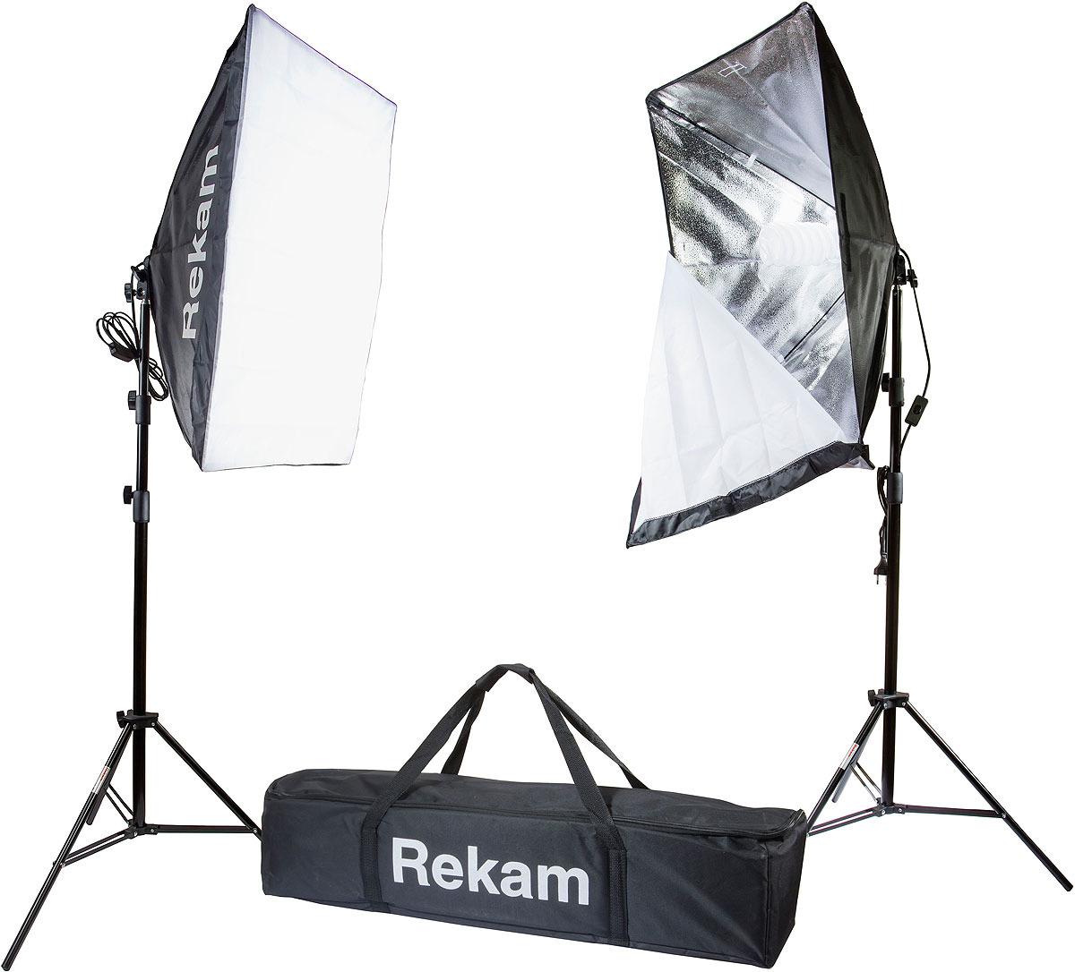 Комплект флуоресцентных осветителей Rekam CL-250-FL2-SB Kit & CL-250-FL2-SB Kit, Black комплект флуоресцентных осветителей rekam cl 435 fl3 sb boom kit