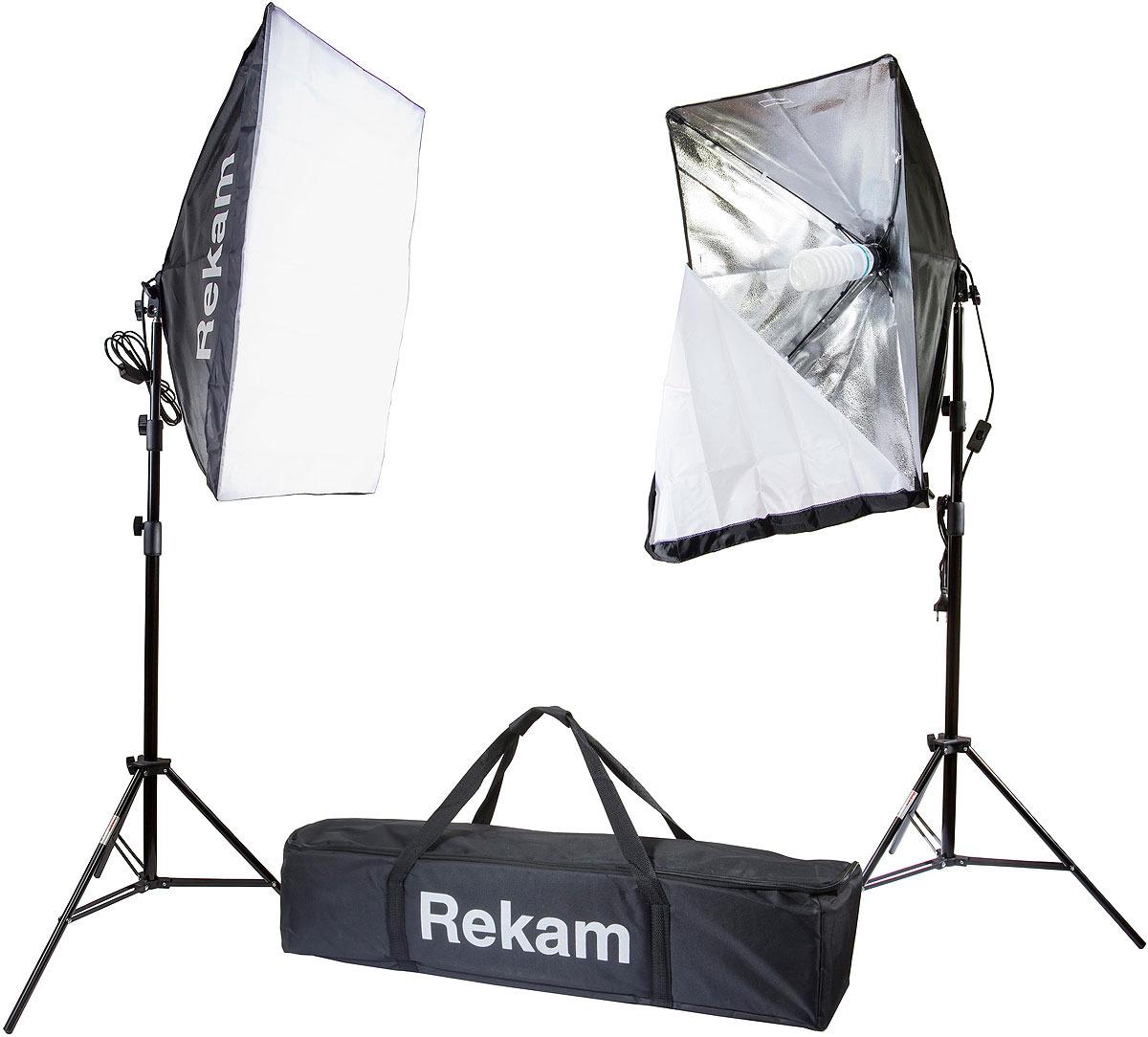 Комплект флуоресцентных осветителей Rekam CL-310-FL2-SB Kit & CL-310-FL2-SB Kit, Black