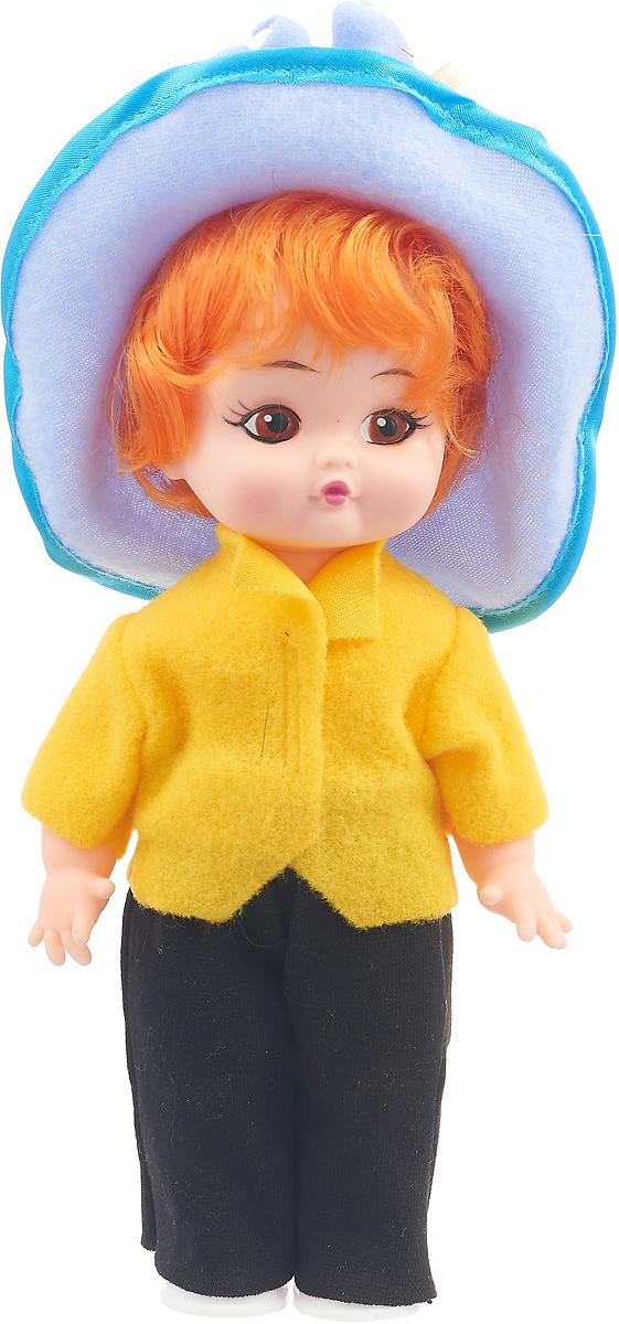 Кукла Мир кукол Незнайка, 1395946, желтая кофта1395946_желтая кофтаКукла Незнайка выполнена из качественного и безопасного материала. Кукла одета в голубую шляпу, желтую кофту, черные штанишки и белые ботиночки. Ноги, руки и голова куклы подвижны, что дает возможность придавать ей любые позы.С такой куклой вашей девочке будет очень весело играть! Рекомендуем!