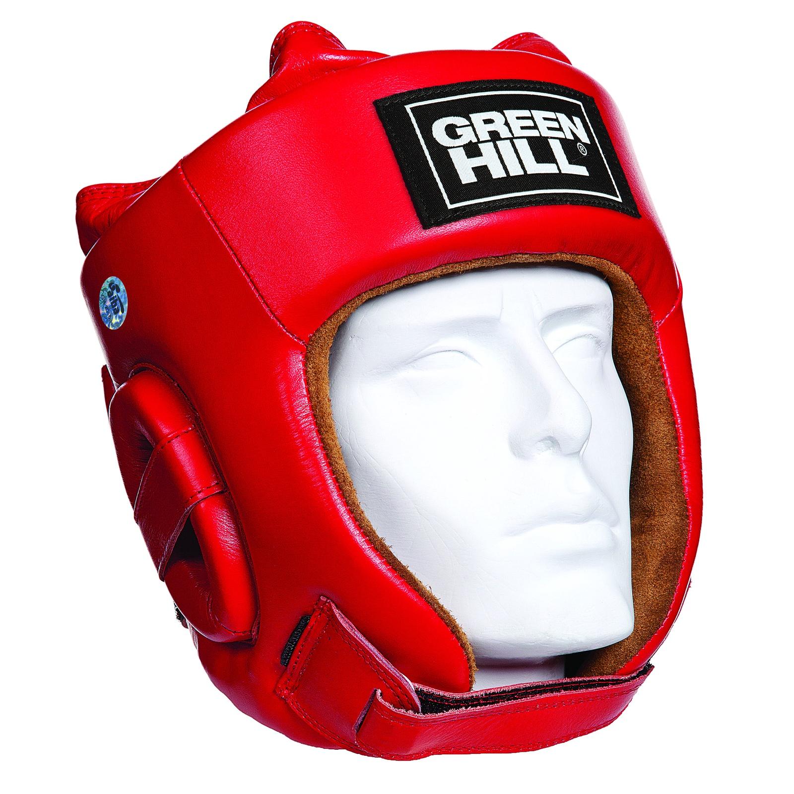 Шлем боксерский FIVE STAR одобренный AIBA, цвет красный, размер XL, HGF-4012_RD_4 все цены