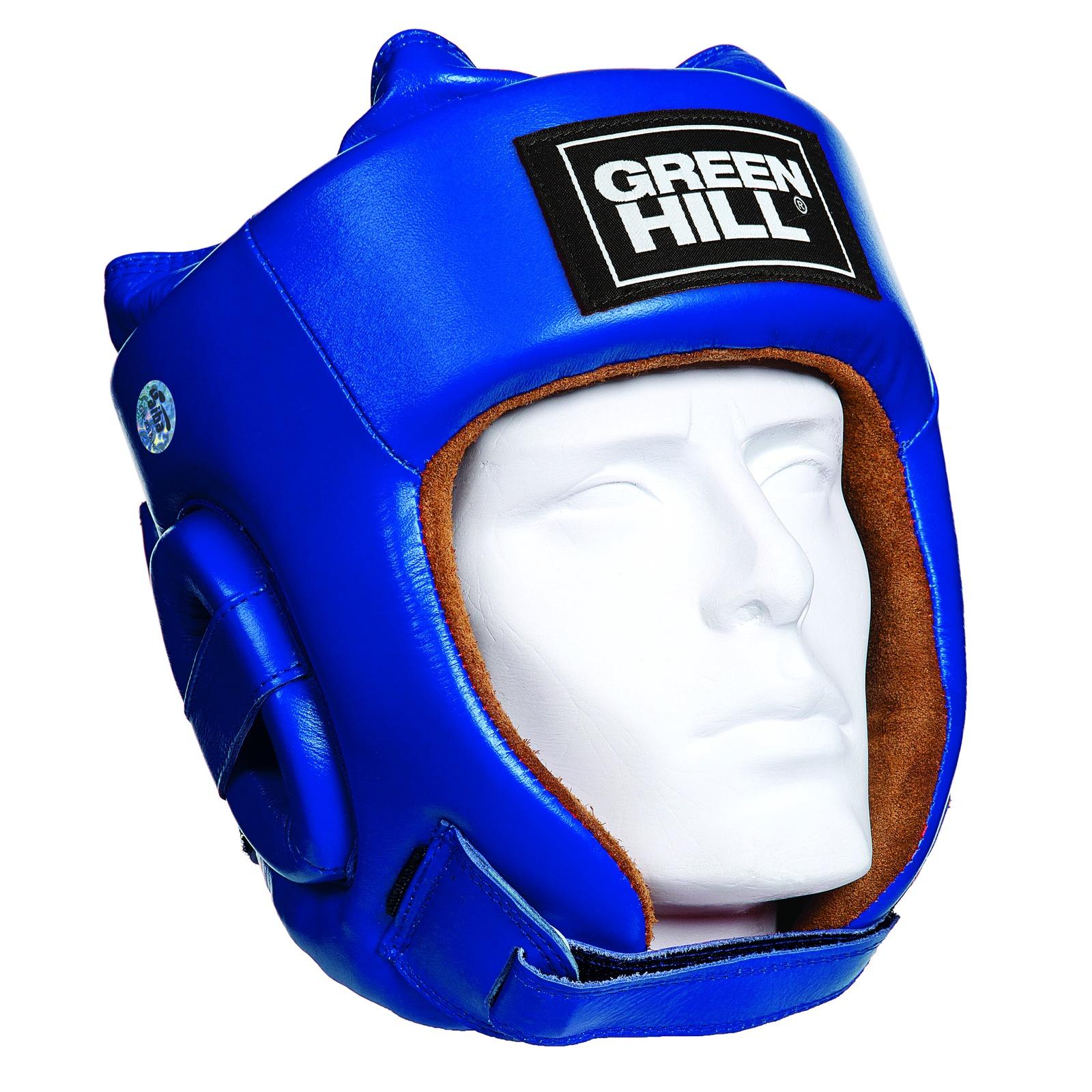 Шлем боксерский FIVE STAR одобренный AIBA, цвет синий, размер XL, HGF-4012_BU_4 все цены