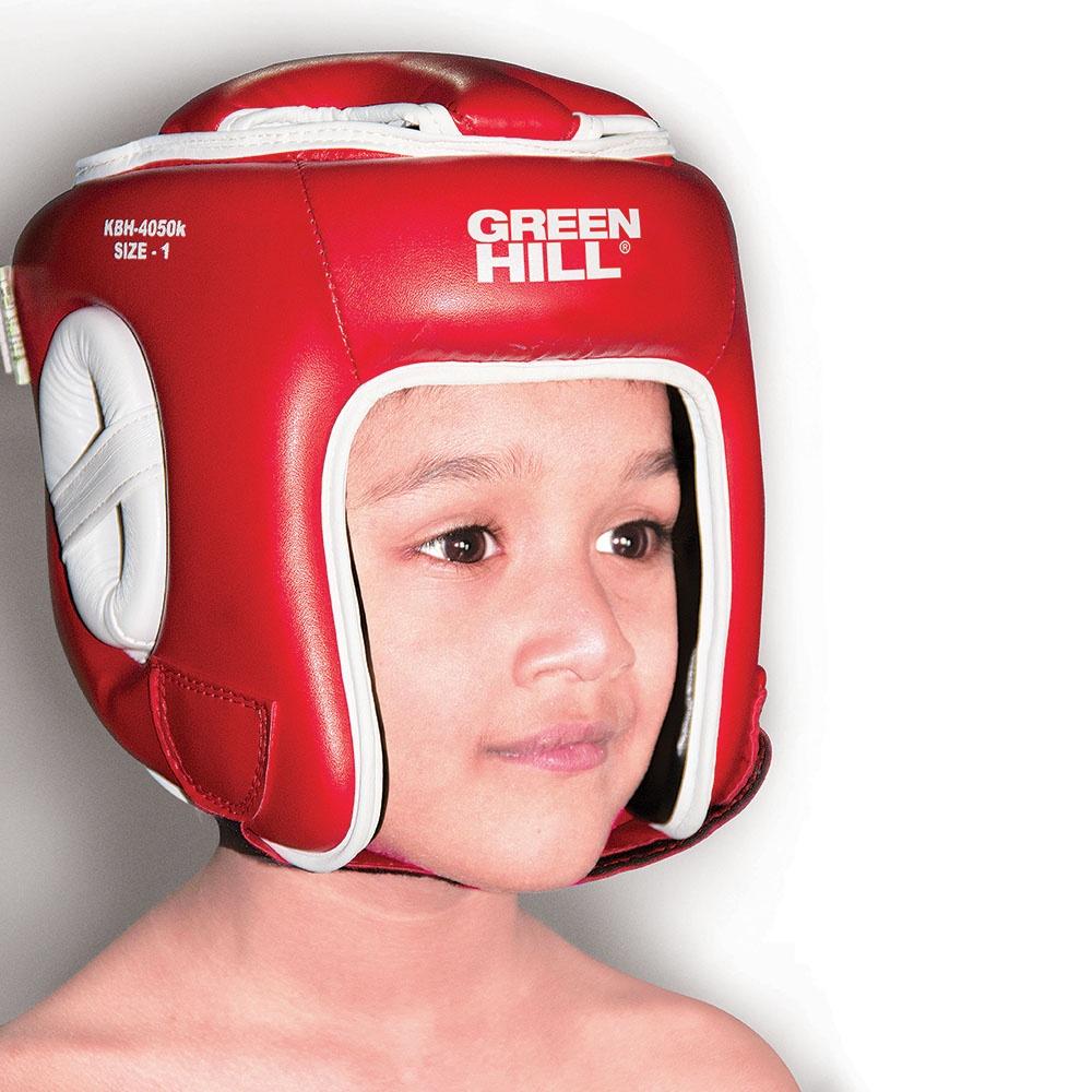 Шлем Green Hill Kids детский, цвет: красный, размер 2 стоимость